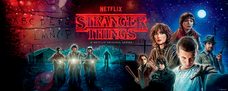 Stranger Things serie original de Netflix